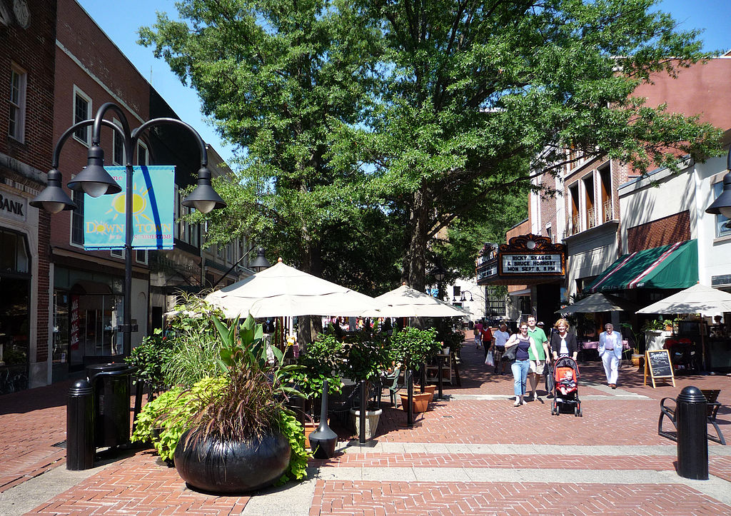 Charlottesville-DowntownMall