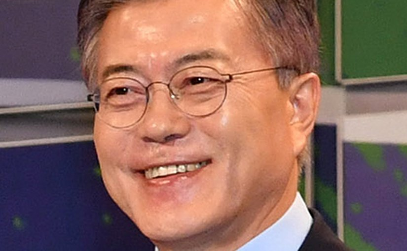 South Korea's Moon Jae-In Wikipedia Commons.