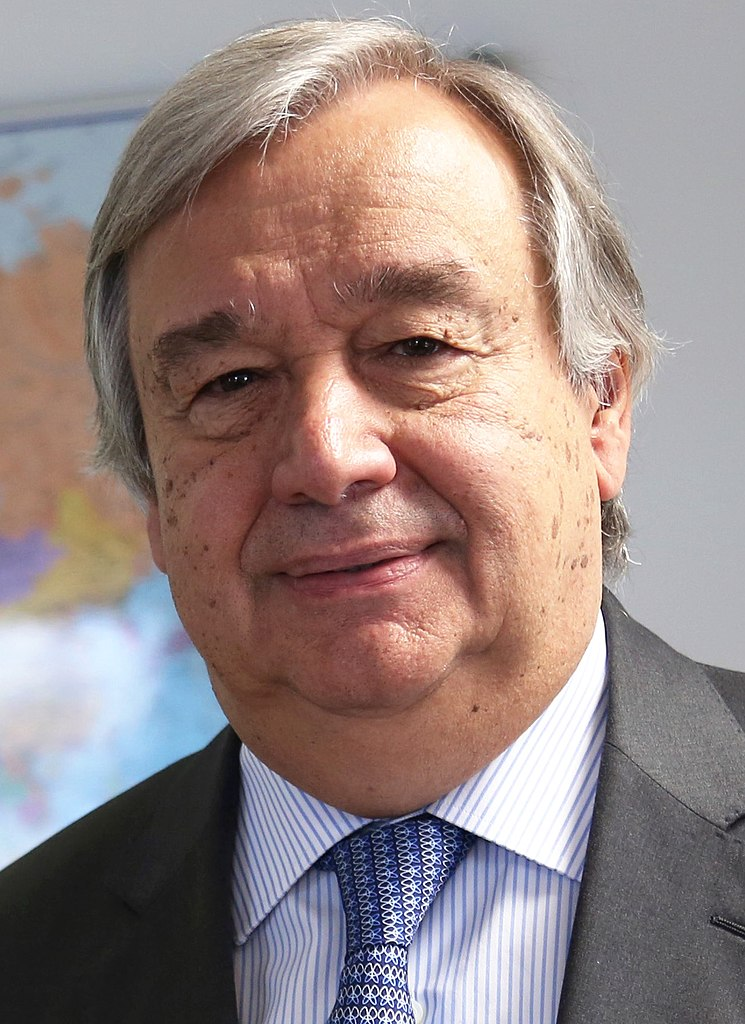 António Guterres From Wikimedia Commons